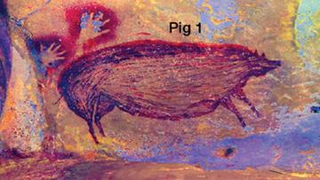 Odkryto najstarsze malowidło naskalne w historii. To świnka