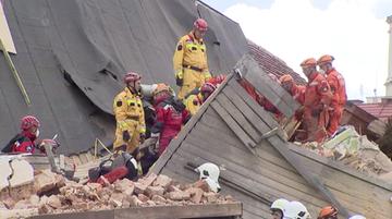 Wybuch gazu przyczyną zawalenia kamienicy w Świebodzicach