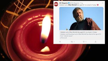 """Zmarł Mike Mitchell. Aktor znany z """"Gladiatora"""" miał 65 lat"""