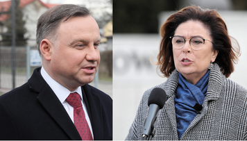 43 proc. poparcia dla Andrzeja Dudy, prawie połowa mniej dla Kidawy-Błońskiej. Sondaż prezydencki