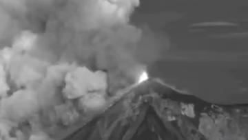 Wybuchł kolejny wulkan. Drugi raz w tym roku