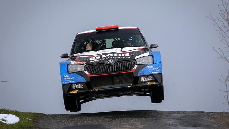 Rajd Chorwacji: Kajetan Kajetanowicz już na prowadzeniu w klasie WRC 3
