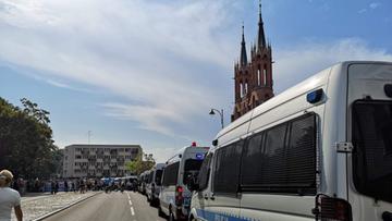 Podlaska policja ustaliła tożsamość 52 osób wz. z wydarzeniami na Marszu Równości w Białymstoku