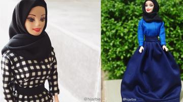Kolejna odsłona lalki Barbie. Tym razem w hidżabie