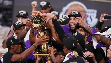 Los Angeles Lakers mistrzem NBA