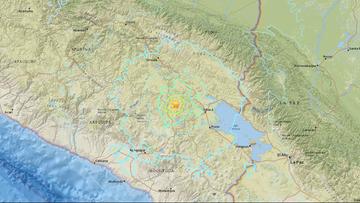 Trzęsienie ziemi w Peru