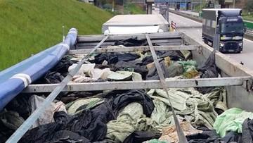 46 ton nielegalnych odpadów. Jechały do Polski z Francji i Niemiec