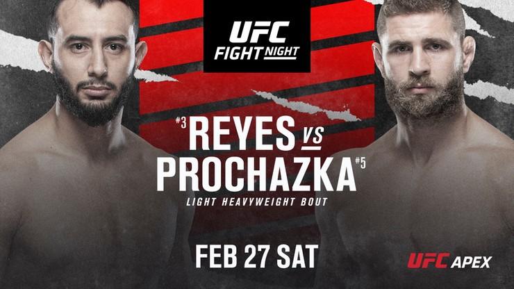 UFC: Dominick Reyes wraca do oktagonu! Czy poznamy kolejnego rywala Błachowicza?