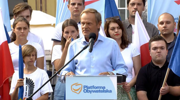 """Tusk mówił o """"ruskim ładzie"""". """"Agendy PiS i Putina są podobne"""""""