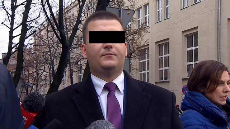 Były rzecznik MON Bartłomiej M. może opuścić areszt. Musi wpłacić 100 tys. złotych kaucji