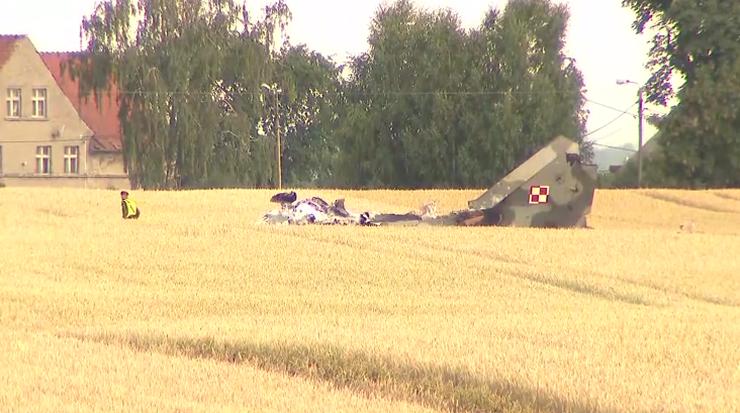 Pilot, który zginął w katastrofie MiG-29, został pośmiertnie awansowany