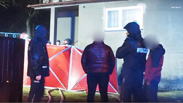 Jaworzno: matka i syn zginęli w pożarze domu