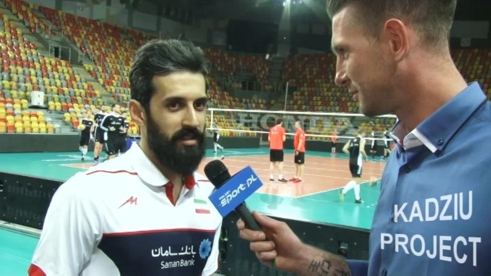 Kadziu Project - Saeid Marouf, reprezentant Iranu, przed meczem z Polską
