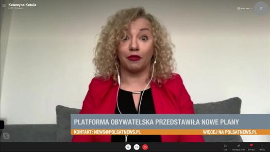 Śniadanie w Polsat News - 07.02.2021