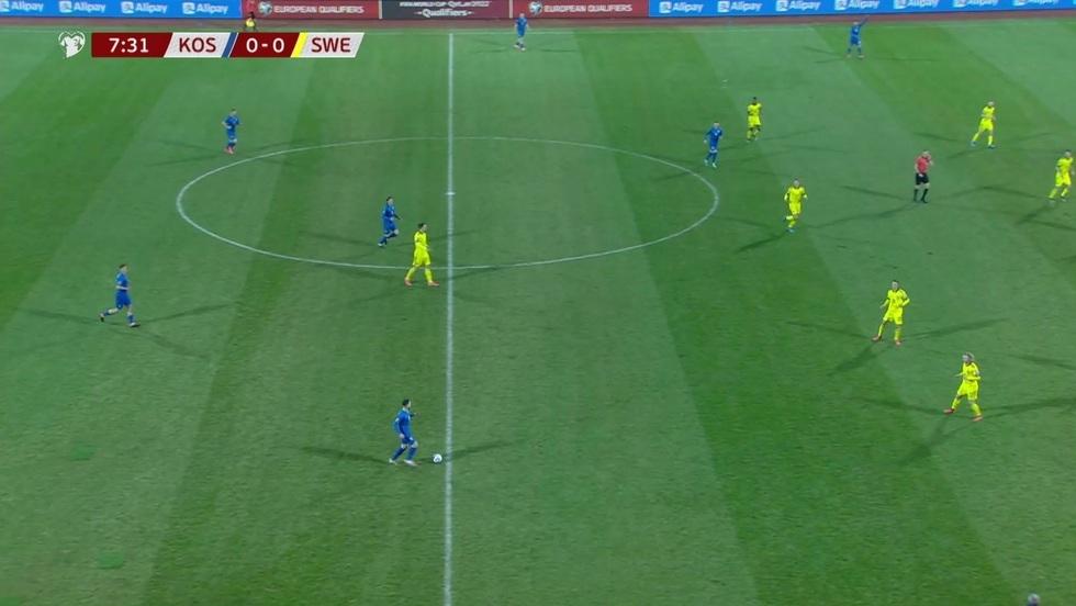 Kosowo - Szwecja