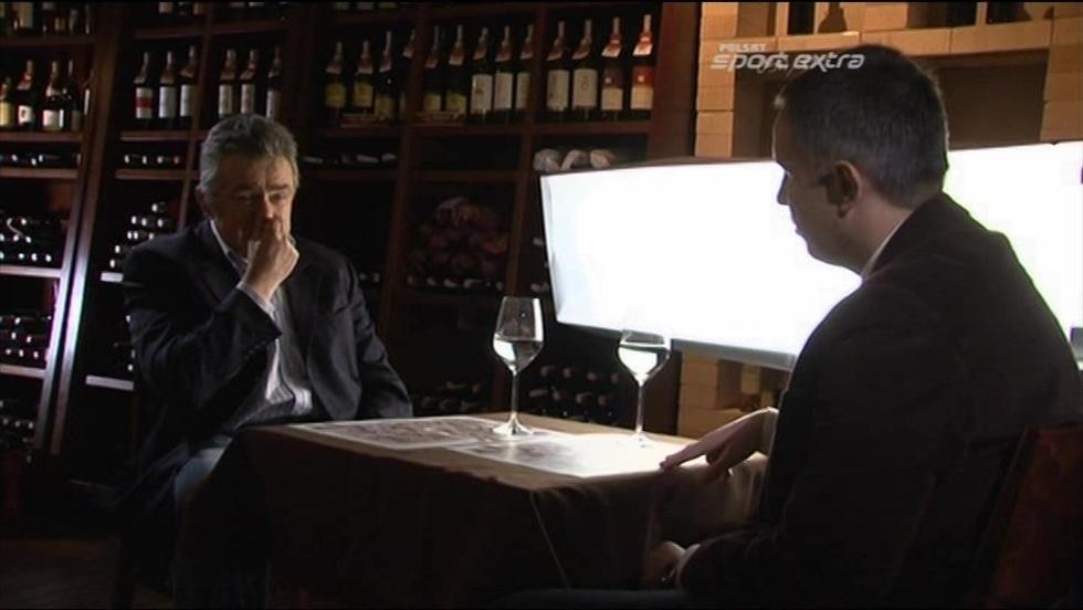 Kulisy sportu - wywiady Romana Kołtonia: Janusz Wójcik